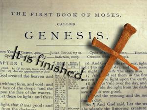 Bible, Nails, Cross